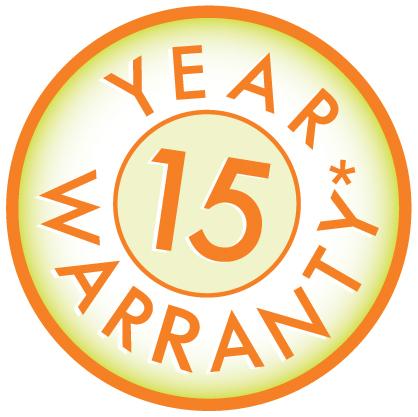 Warranty logo_15 years_Sept 2011 (2)