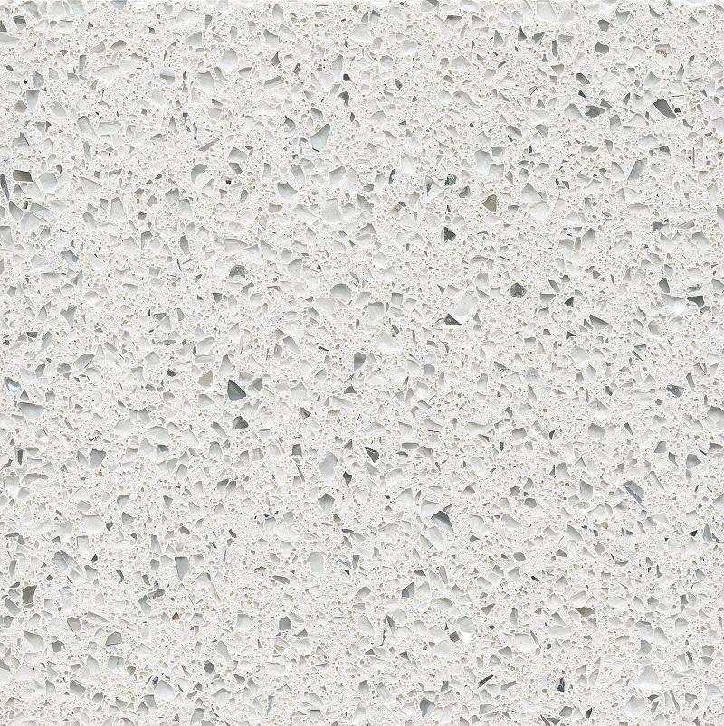 Stellar Blanco quartz worktops by Everything Stone