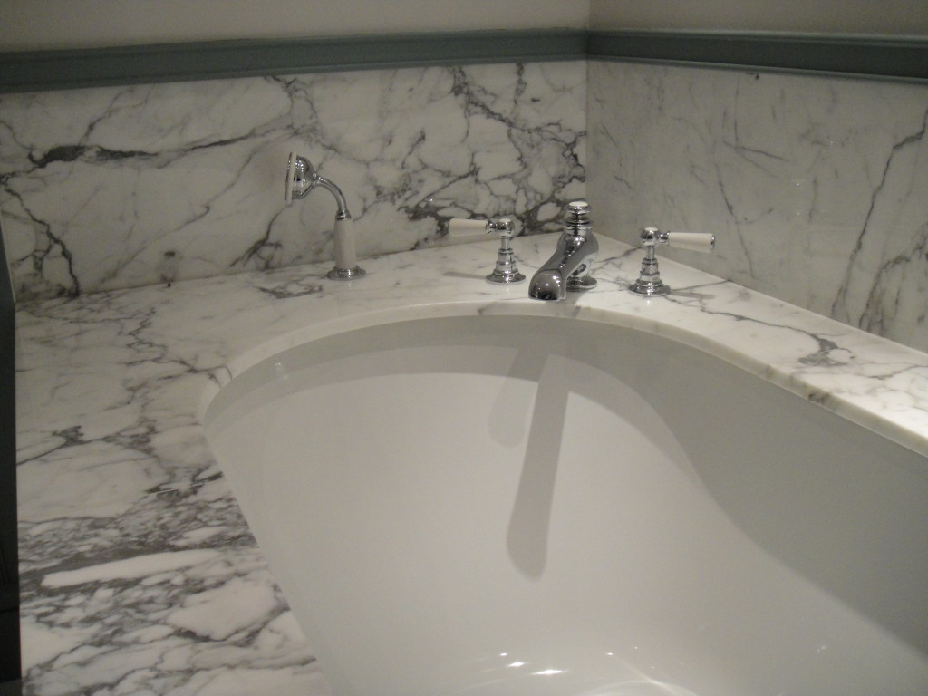 marble bathrooms in Cornwall by everything stone