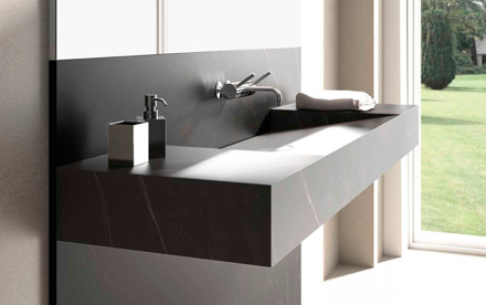 Dekton - stone bathrooms by everything stone