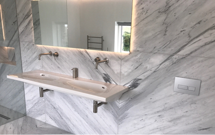 Marble - stone bathrooms by everything stone