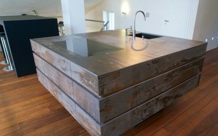 quartz worktops from Dekton - installed by Everything Stone
