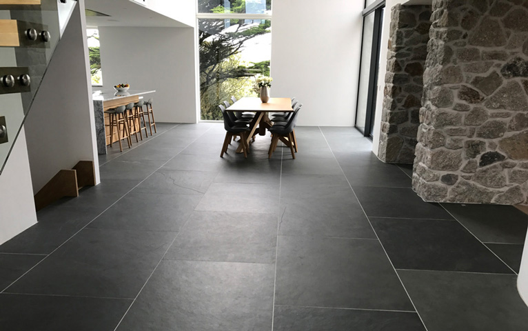 slate flooring - natural stone flooring tiles by Everything Stone