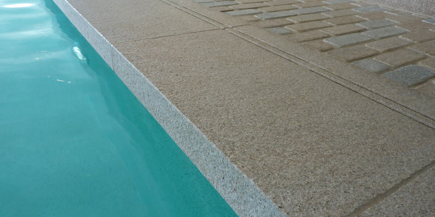 granite copings installed by Everything stone