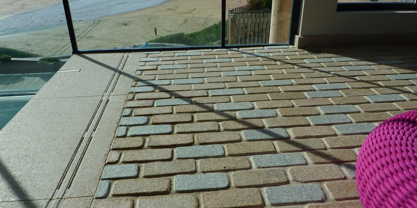 granite paving installed by everything stone