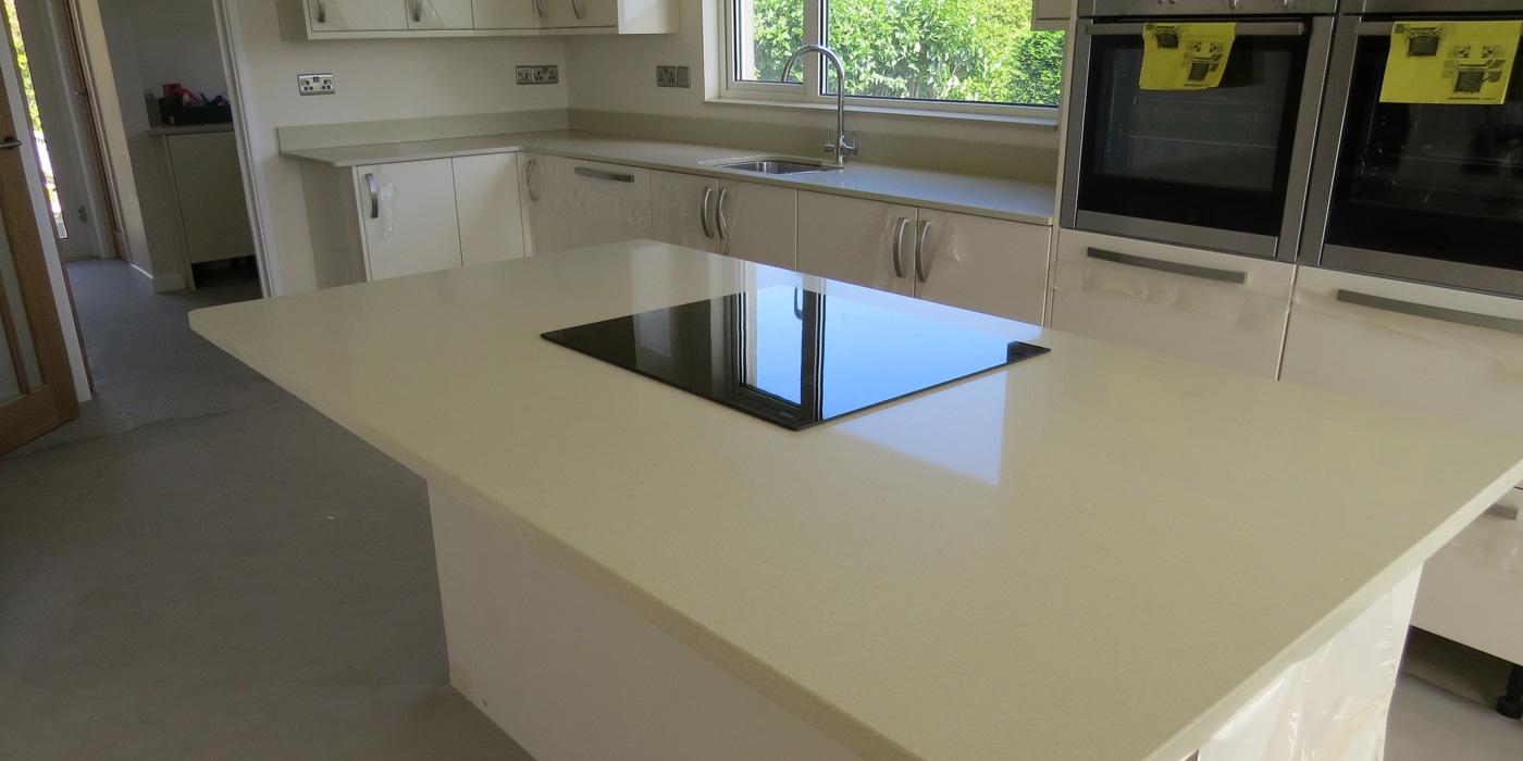 Silestone quartz worktops - installed by Everything Stone
