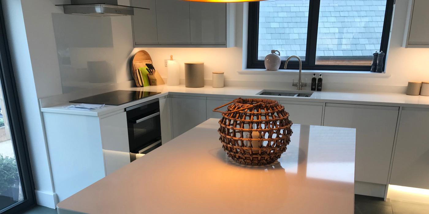 quartz worktops - installed by Everything Stone