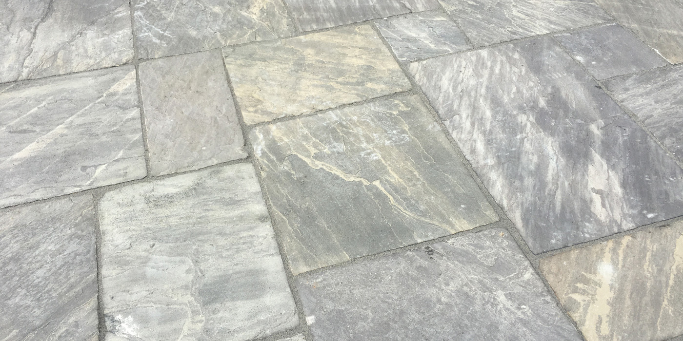 Everything Stone carrying our hard landscaping works at Liskeard in Cornwall