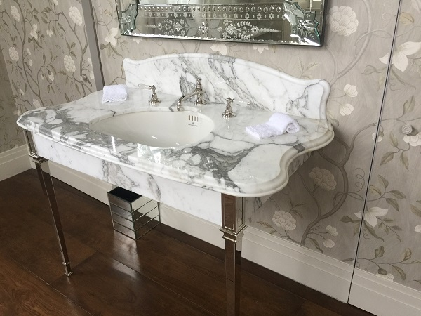 marble vanity tops - Everything Stone in Cornwall