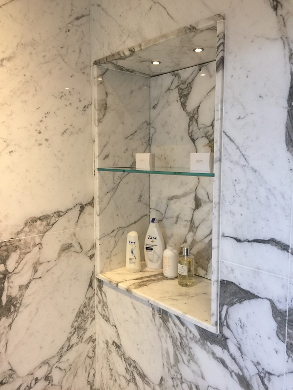 marble shelf by everything stone