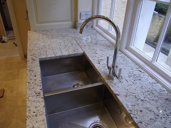 granite worktop installed by Everything Stone - cost of granite worktops versus cost of quartz worktops