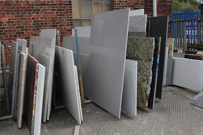 remnant slabs of stone