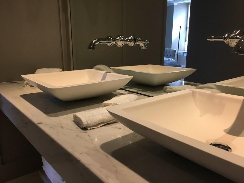 Calacatta Colorado marble vanity top