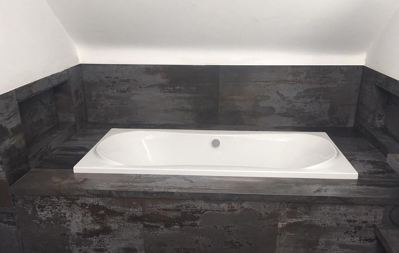 stone bath surround