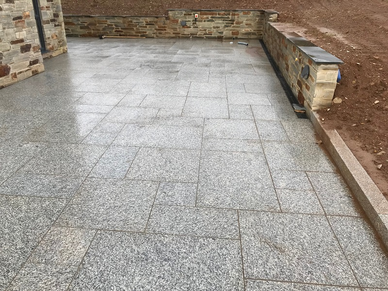 granite paving in cornwall by everything stone