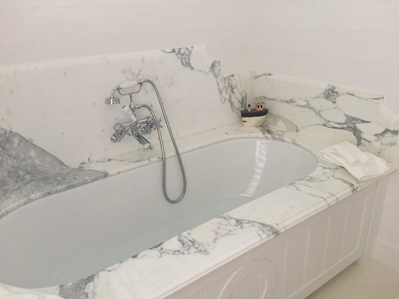stone bath surround by everything stone