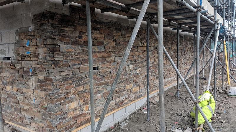 Cornish stone wall cladding by Everything Stone