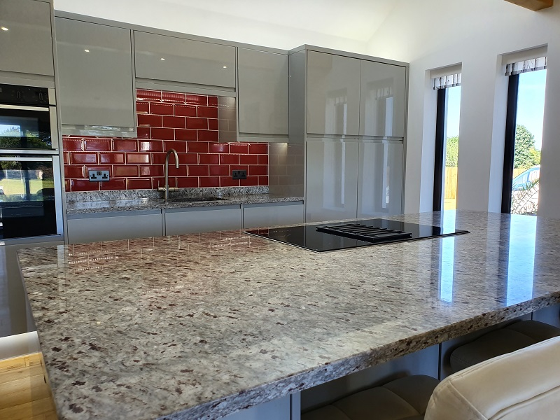 Ambrosia White Granite Worktops by Everything Stone