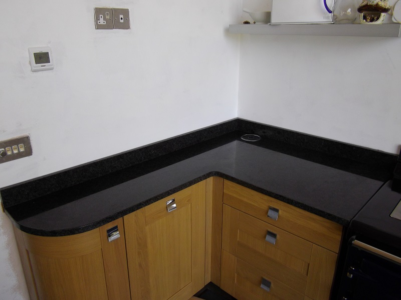 Angola Blue Granite Worktops by Everything Stone