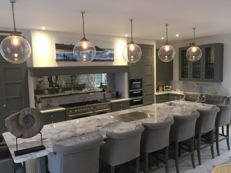 Marble worktops by Everything Stone